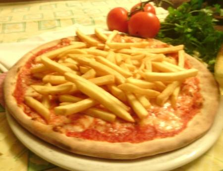 Pizza Patatine
