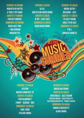 Etna Music Summer 2015 date e gruppi