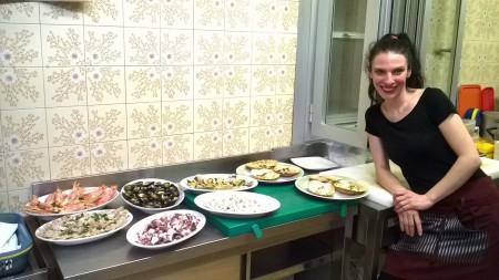Anna in cucina