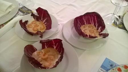 Antipasto - Gamberetti in salsa rosa