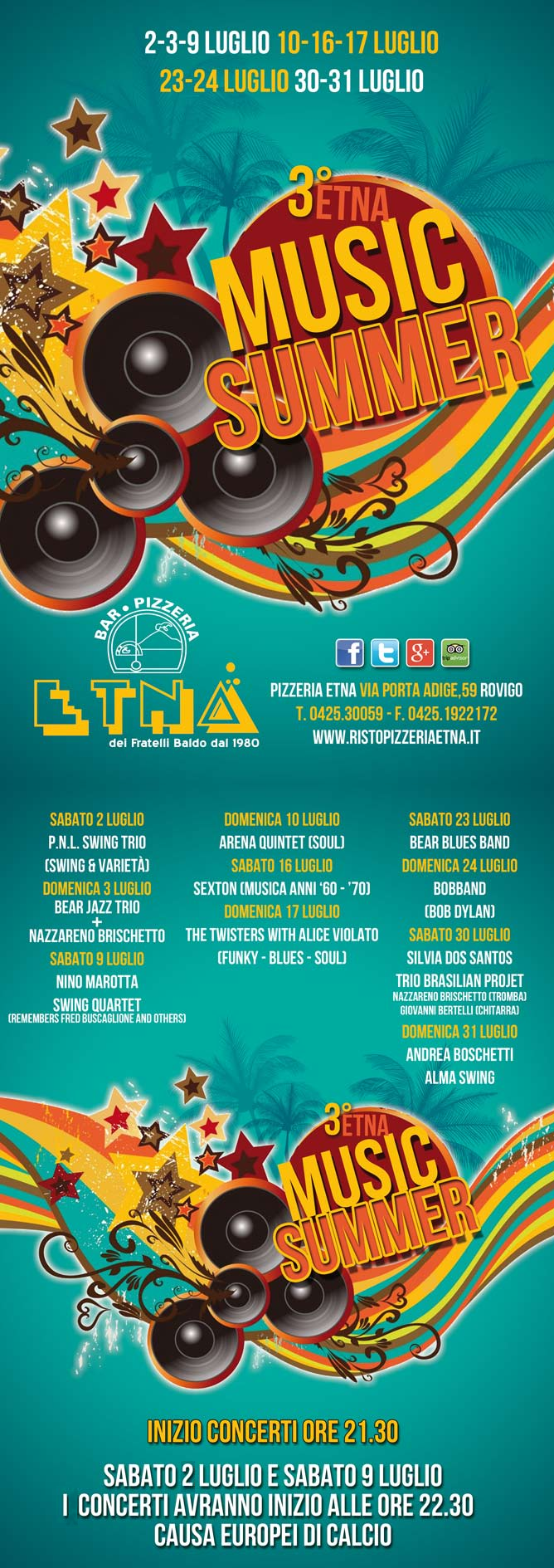 Programma Etna Music Summer 2016