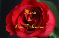 Menù di San Valentino 2018